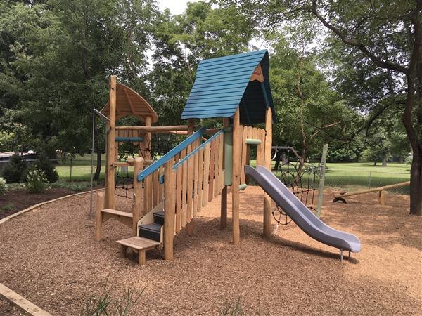 Stonebrook Montessori Playground Cleveland Ohio American