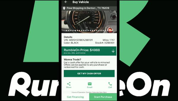 Motorcycle for sale apps have never been this awesome: