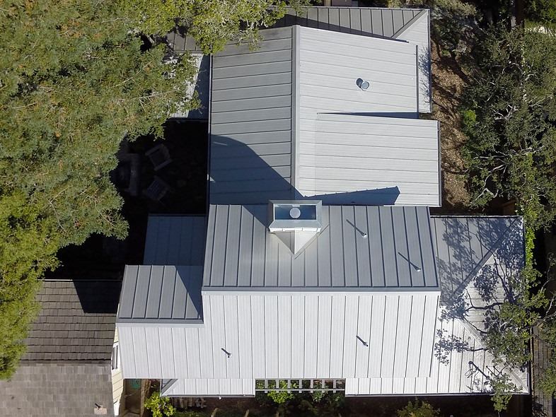Hill ResidenceStanding seam metal roofing