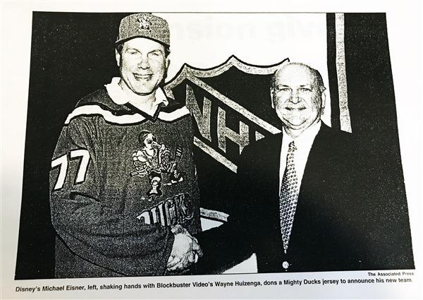 Nhl Awards Franchise To Anaheim On December 10 1992 Anaheim Ducks