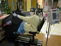 Exercising during chemotherapy