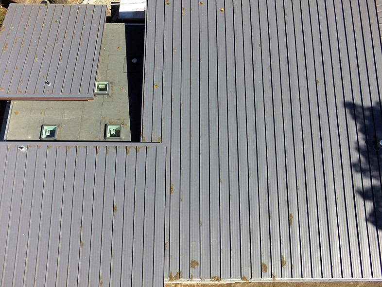 Murphy ResidenceStanding seam metal roofing