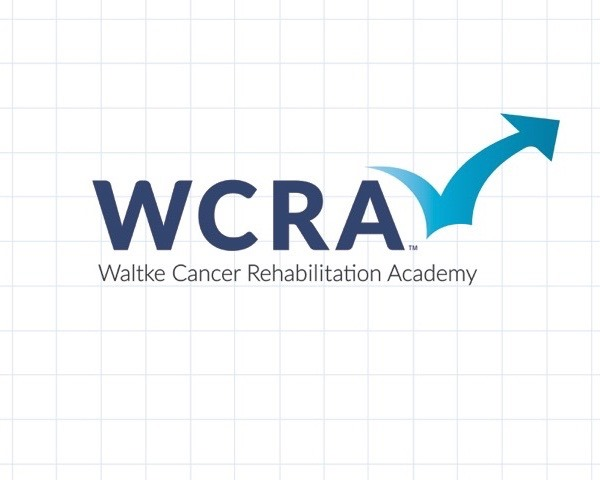 The bouncing arrow of our logo depicts the trauma of a cancer diagnosis and the role of rehab in restoring health