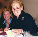 With former Secretary of State Madeleine Albright