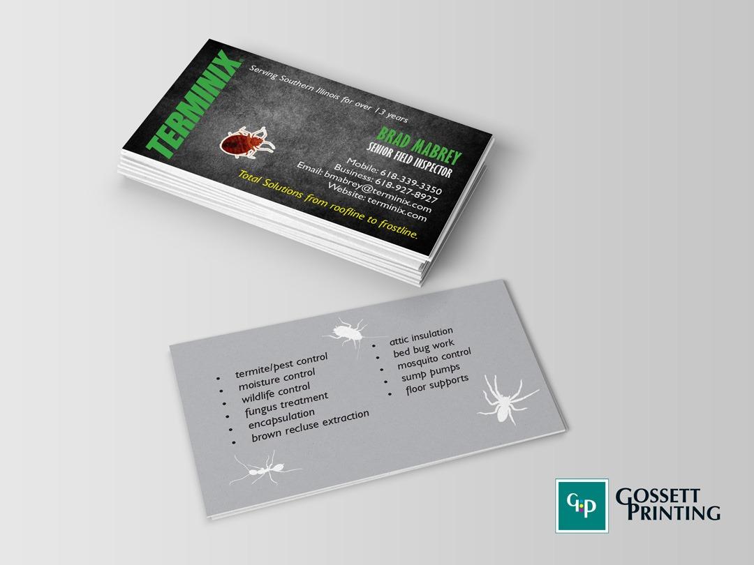 Gossett Printing, Inc. · Graphic Design