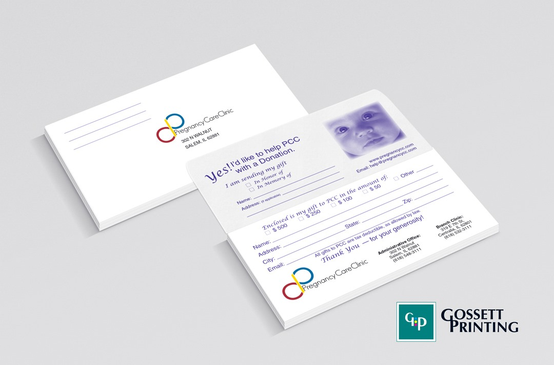 Gossett printing inc graphic design donation envelopedonation envelopes for non profit organization colourmoves