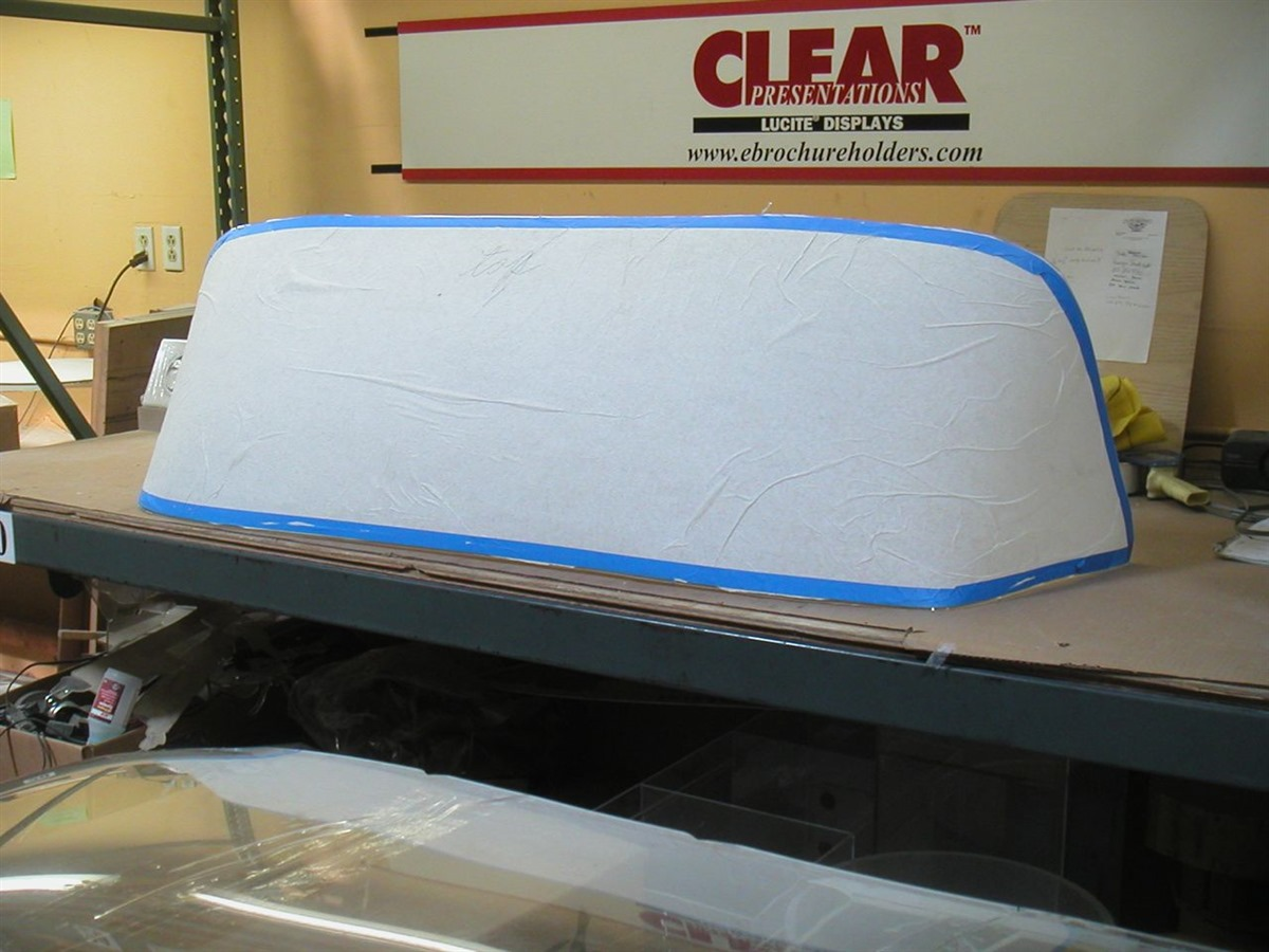 Custom Boat Windshields and Marine Work Fabrication From