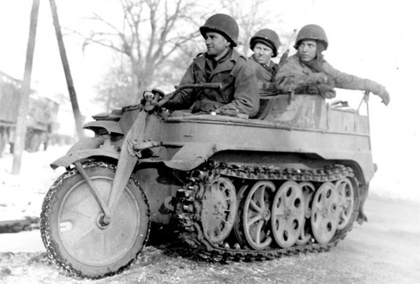 SdKfz 2 AKA The Kettenkrad - WWII