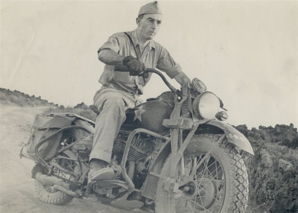 Type IV 42WLA - WWII Motorcycle