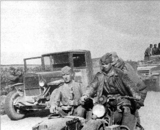 WLA with Sidecar - WWII Motorcycle