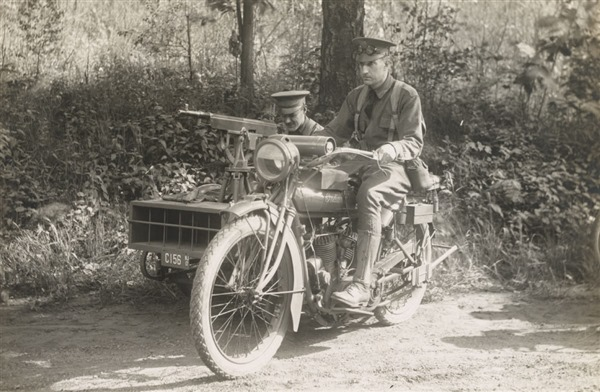 1918 Indian Military Motorcycle - WWI