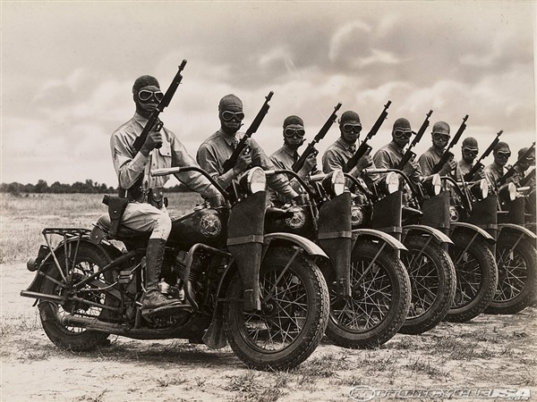 Army Dispatch Riders - WWII