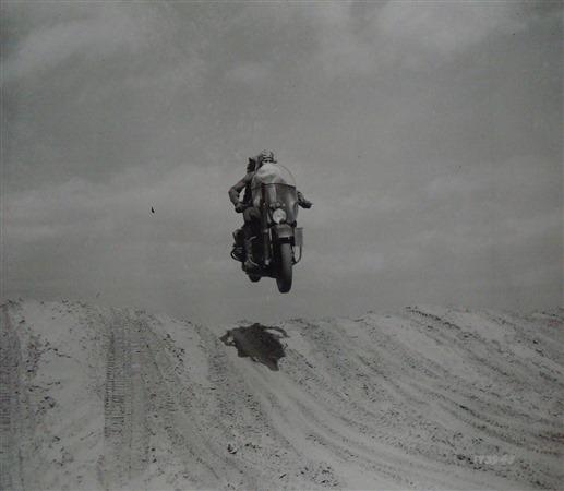 Harley Davidson WLA - 1940 or 1941