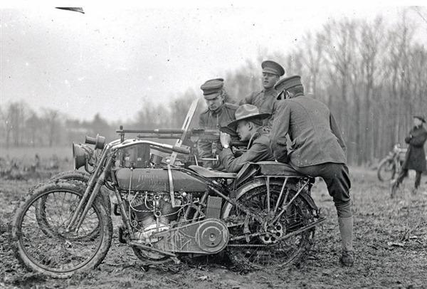 Harley-Davidson Model 17F J - WWI