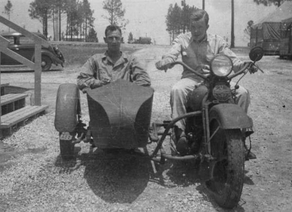 Harley-Davidson with Sidecar - 1944