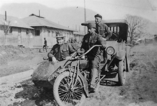 Indian Military Motorcycle the Powerplus - WWI
