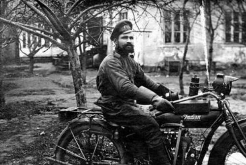 Indian Powerplus Motorcycle - WWI