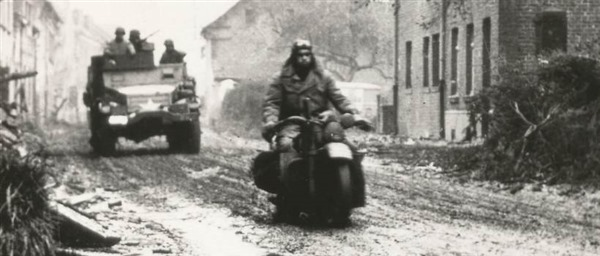 Military Motorcycle Escort - France 1944