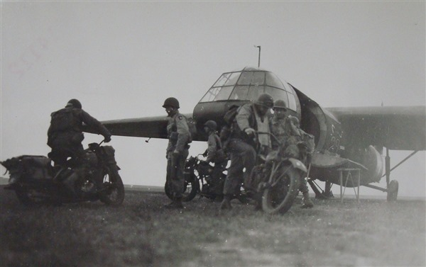 Military Motorcycle Harley WLA - 1944 WWII