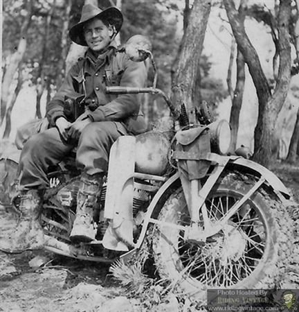 Pvt. Bob Parker of 3rd Batt. Royal Australian Regiment - Korean War - Riding Vintage