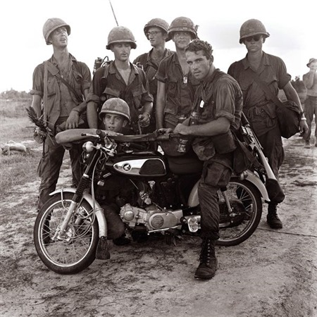 Captured VC Motorcycle - Vietnam War - Pamplin Media Group