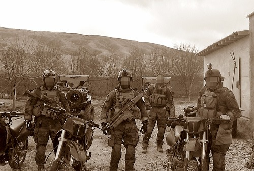 MARSOC Marines Using Dirtbikes to Pursue Taliban in Afghanistan - 2012