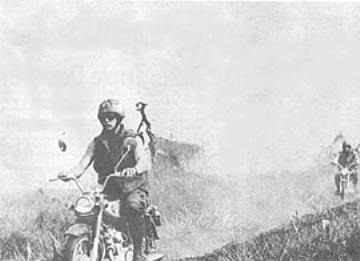 Motorcycle Riders - Vietnam War