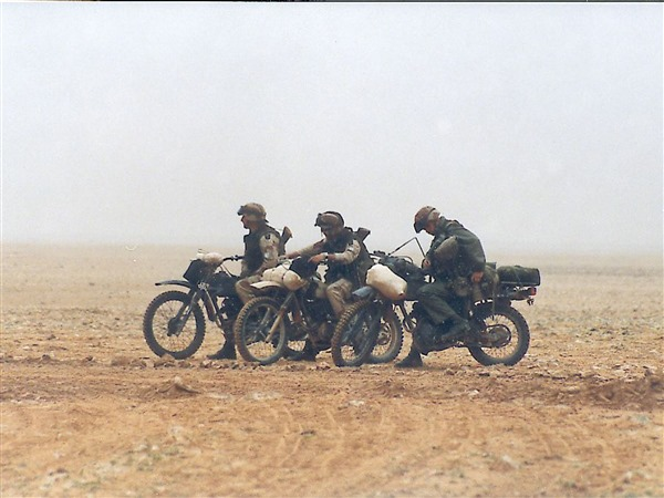 Motorcycle Scouts - Gulf War 1991 - The Leaf Chronicle