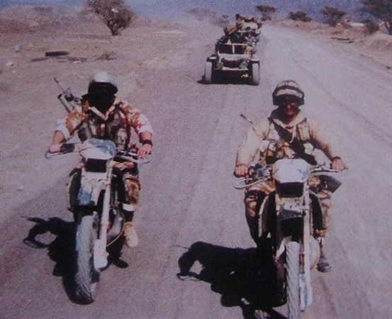 Scout Convoy - Operation Desert Storm