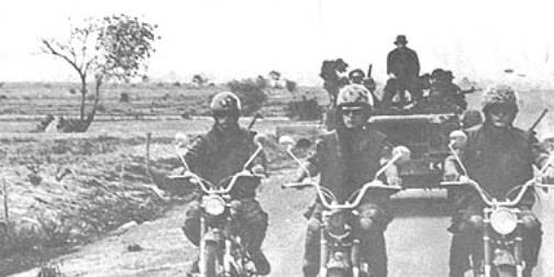 Vietnam War - Army Motorcycle Riders