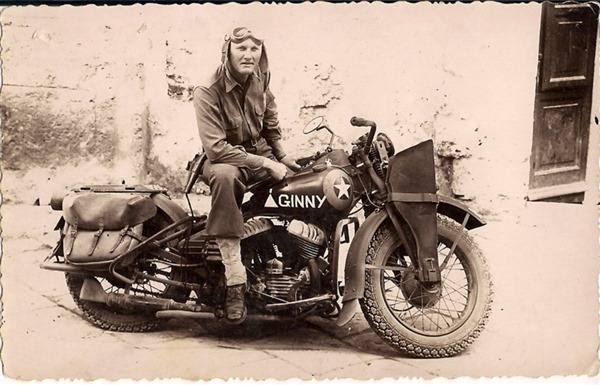 Starting in 1941, Harley produces the WLA for Allied troops in WWII.