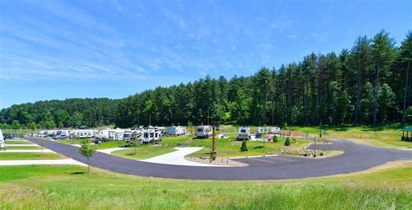 Campsites - Tappan Lake Park