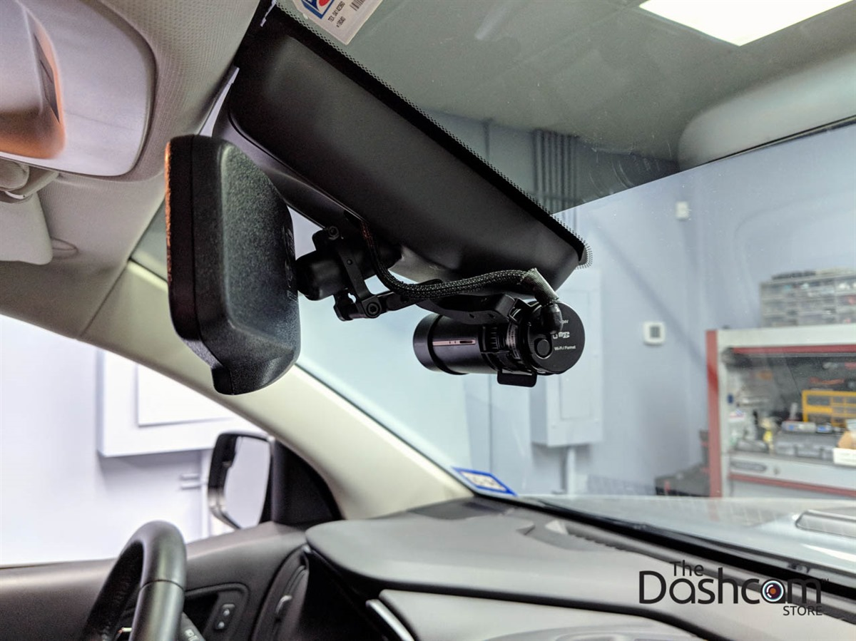Dash Cam Mirror Mount Fits Cylindrical BlackVue DR900S//750S//650S Series//DDPAI //70mai Car Rearview Mirror Mount Kit