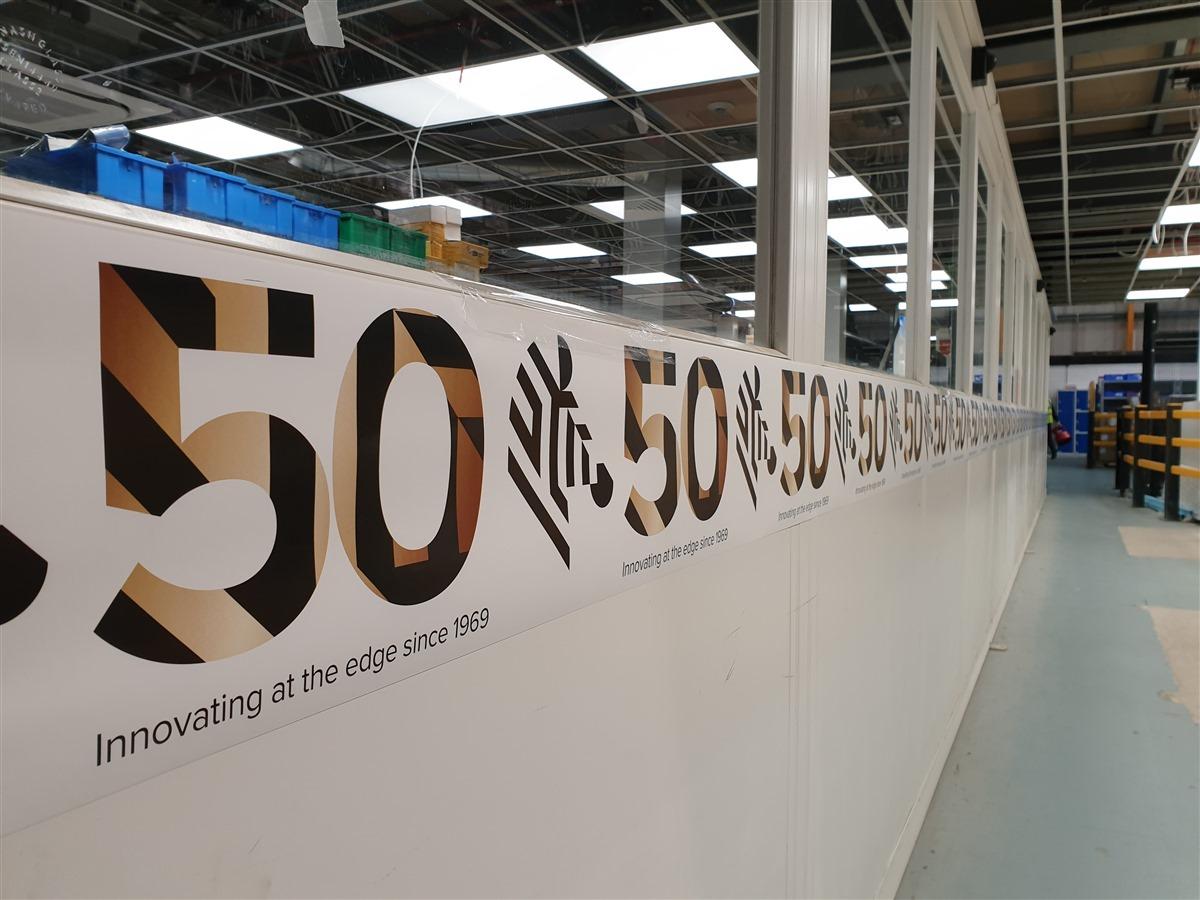 Zebra Technologies 50th Anniversary