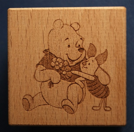 Engraved wooden cubes 29