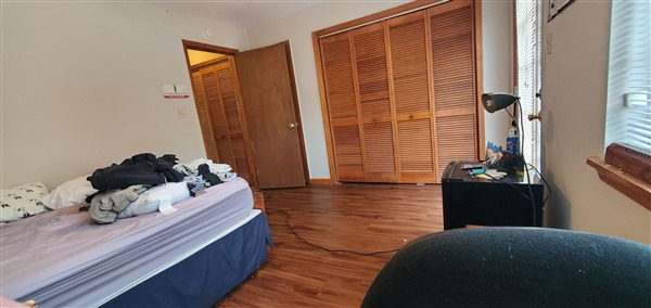All bedrooms have either double closets or walk in closet