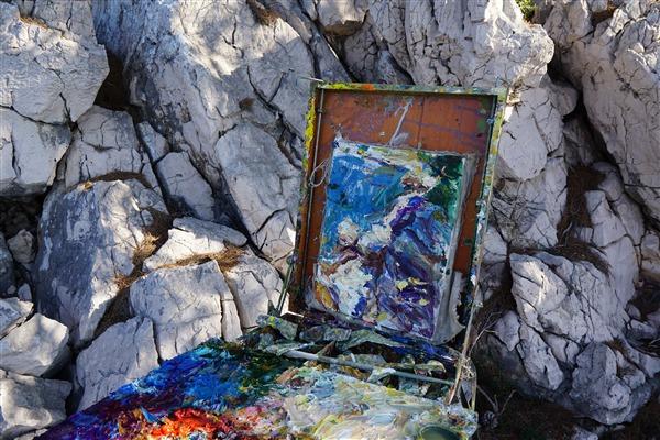Small Seascape (Croatia) (G) 14x8 2019     DSC09399