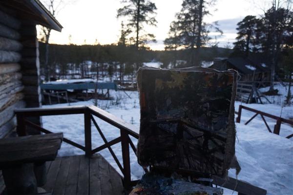 MIDNIGHT SUN  IN FINLAND  26 x 21 1 2   2019      DSC09554