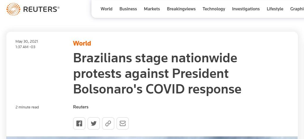 Reuters: