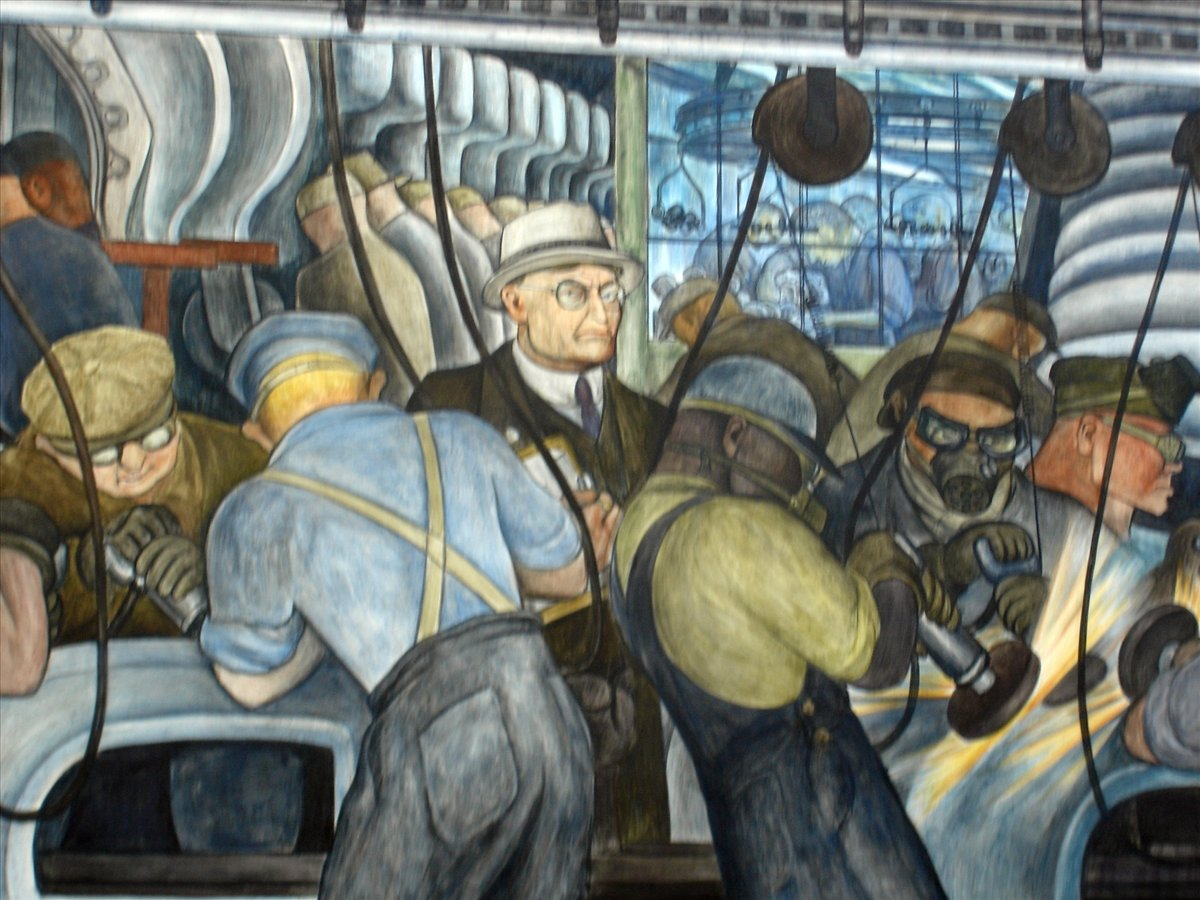 Diego Rivera And The Fall And Rise Of Detroit Wilderutopia Com