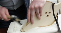Step 12 Pin the tip using a flat head tack