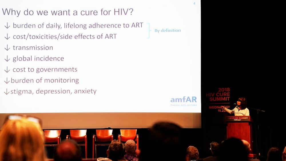 amfAR :: In The Community :: 2018 HIV Cure Summit: Clinical Trials