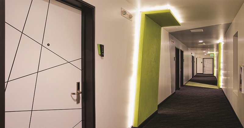 Modern custom contemporary hotel doors design manufacture or