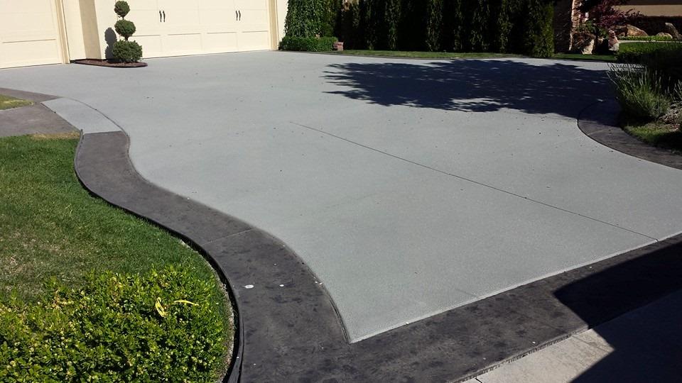 Boise Driveway Resurfacing Concrete Repair Idaho Overlay Staining Armor