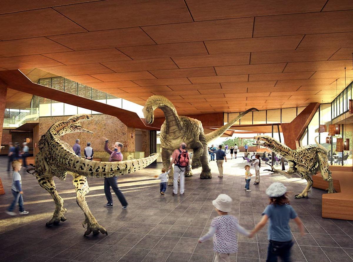 Australian Age of Dinosaurs   Future Development
