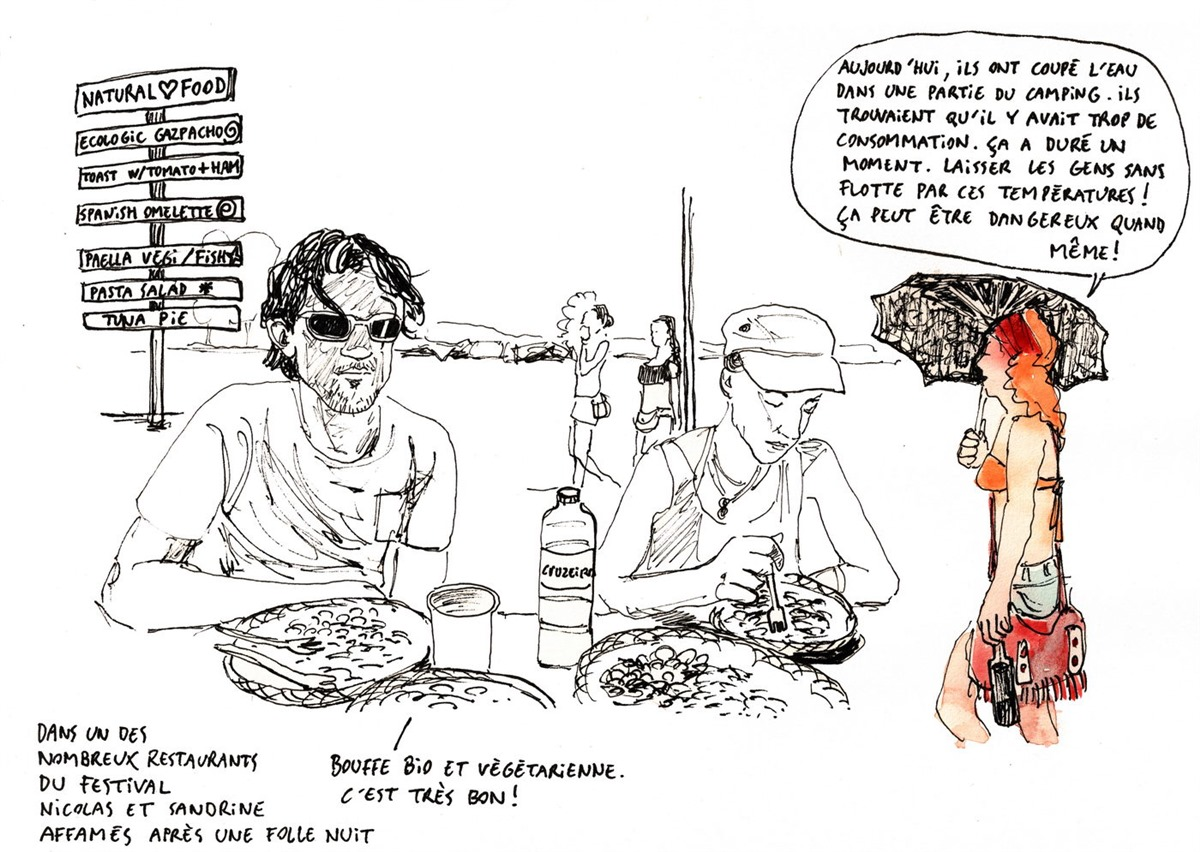 Boom 2012 Cartoon by Yann-Armel Huet - Boom 2020