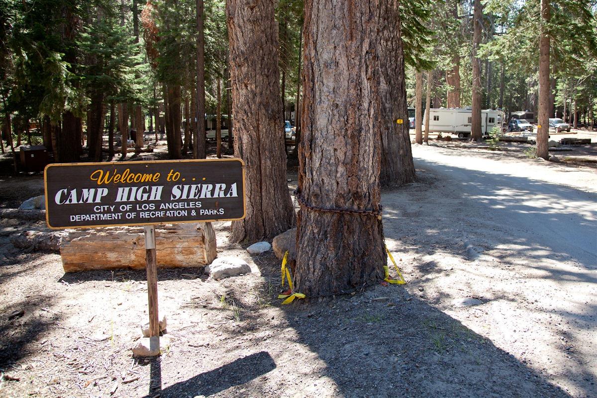 Mammoth Lakes Trail System   Camp High Sierra