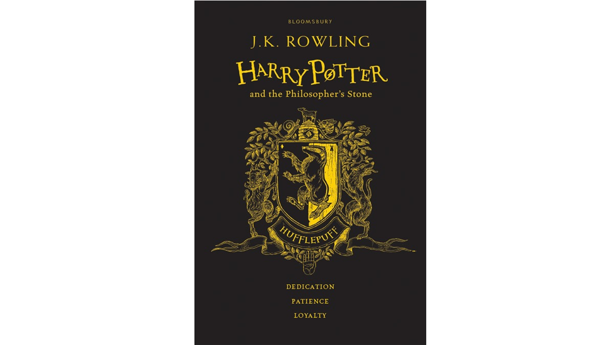 Hogwarts House Themed Covers Unveiled For Philosophers Stone