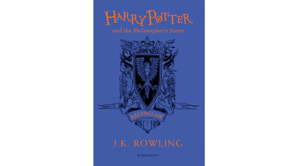 Paperback Edition Of Philosophers Stone 20th Anniversary Illustrated By Levi Pinfold Ravenclaw