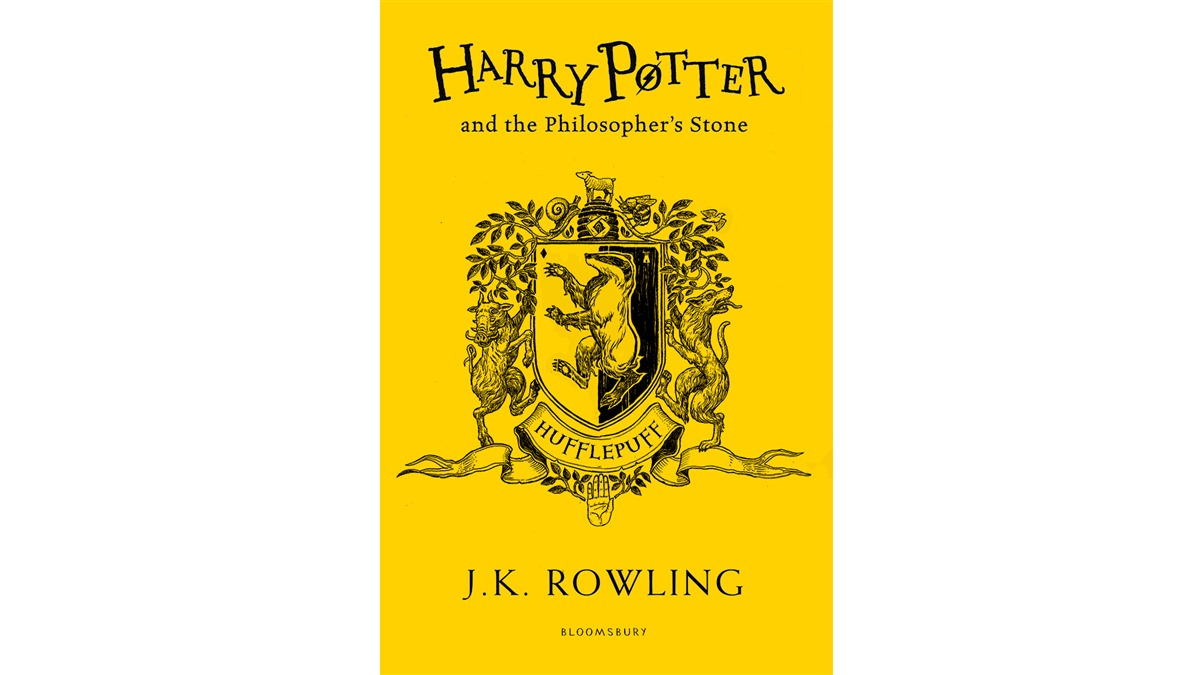 Paperback Edition Of Philosophers Stone 20th Anniversary Illustrated By Levi Pinfold Hufflepuff